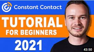 Constant Contact Email Marketing Autoresponder Software Tutorial For Beginners 2021